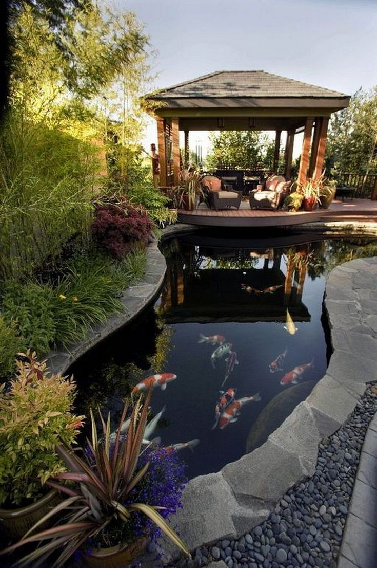 26 Marvelous Fish Pool Garden Design Ideas For Small Yard
