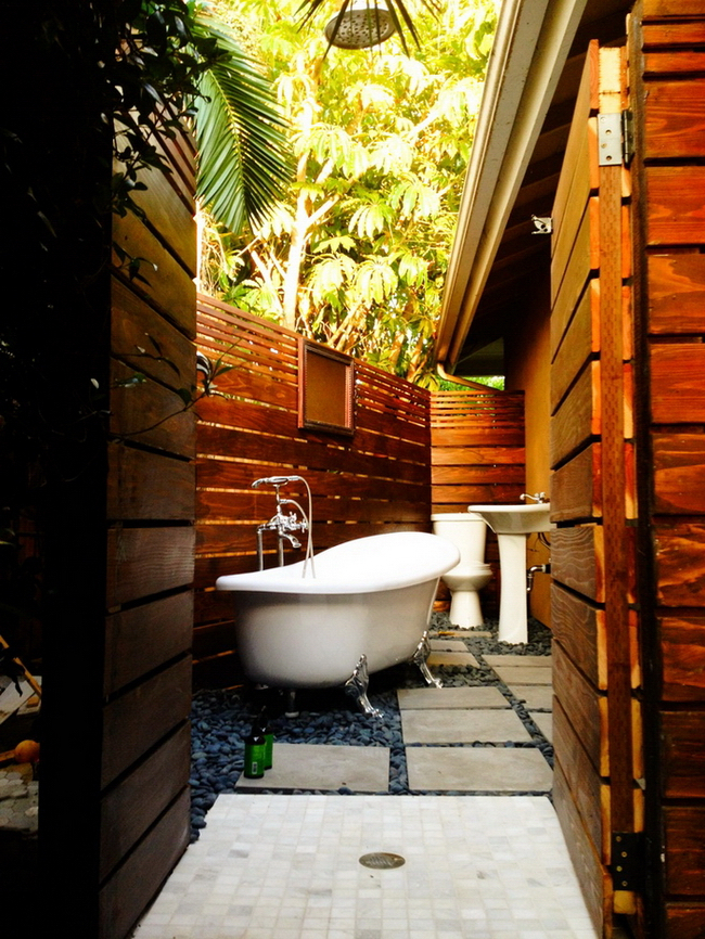 27 Outdoor Bathroom Designs For Your Home Interior God