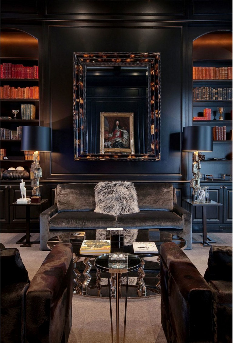 28 Remarkable Goth Living Room Ideas For Inspiration