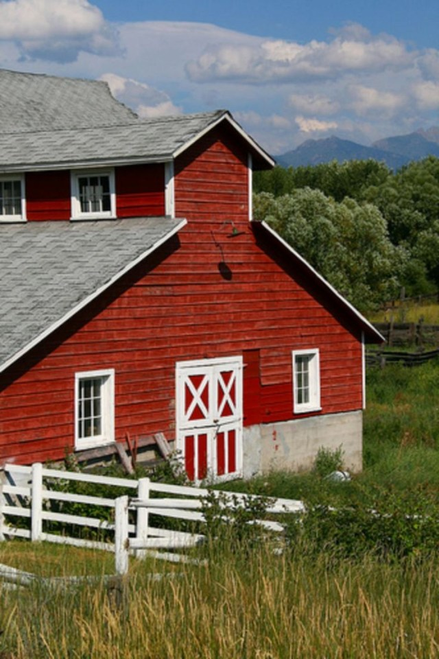 2946 Best Barns Images On Pinterest Barn Farms And Red