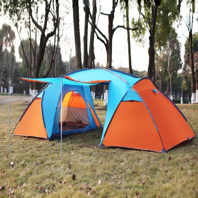 3 4 Person Instant Cabin Camping Tent Hikingtraveling Easy