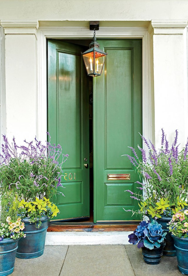 30 Astonishingly Gorgeous Front Door Paint Colors Laurel