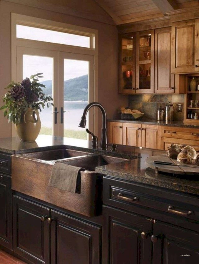 30 Awesome Farmhouse Style On A Budget Kitchen Ideas