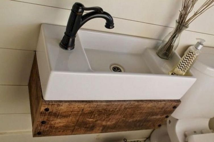 30 Best Skoolie Bathroom Ideas For You Who Want To Do Renovation Small Bathroom Sinks Ikea