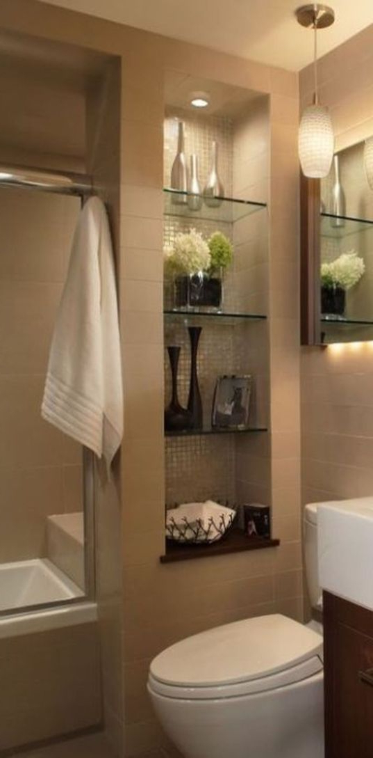 30 Efficient Small Bathroom Remodel Design Ideas Small