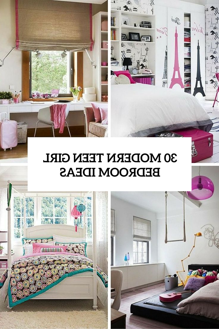 30 Modern Teen Girl Bedrooms That Wow Modern Teen