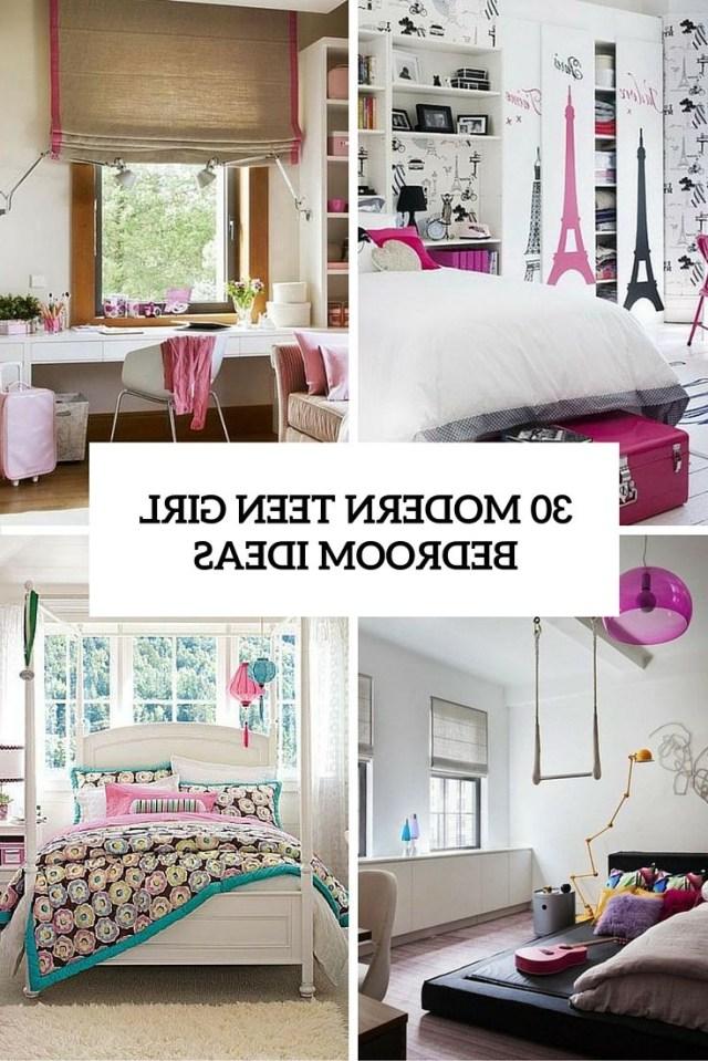 30 Modern Teen Girl Bedrooms That Wow Modern Teen