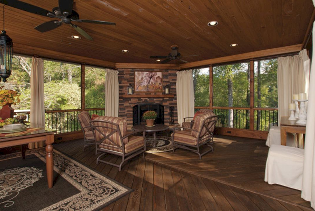 30 Simple Back Porch Design For Beautiful Home Back Views