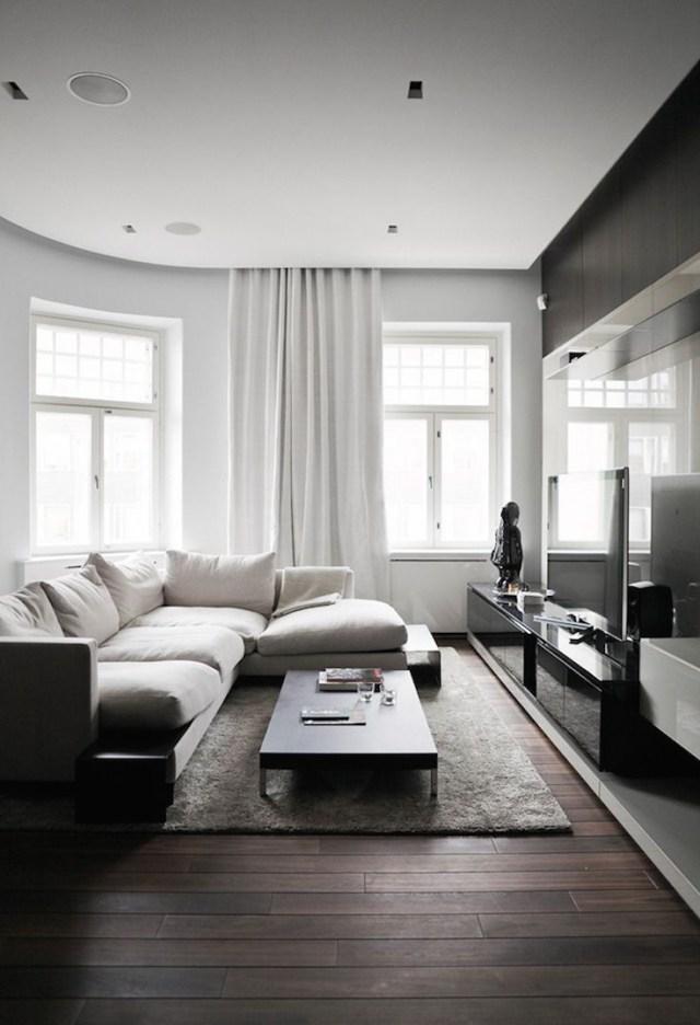 30 Timeless Minimalist Living Room Design Ideas Dark