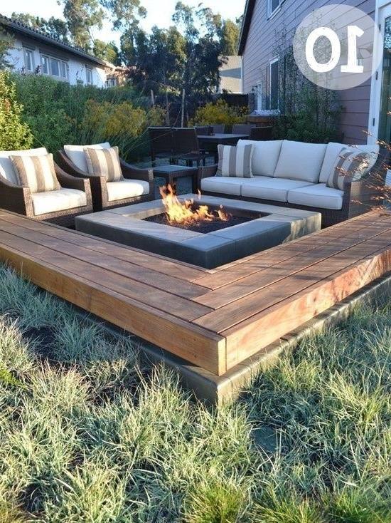31 Sample Garden Firepit Patio Design Ideas Making Your