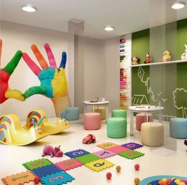 35 Kids Playroom Ideas With Learning Concepts Daycare