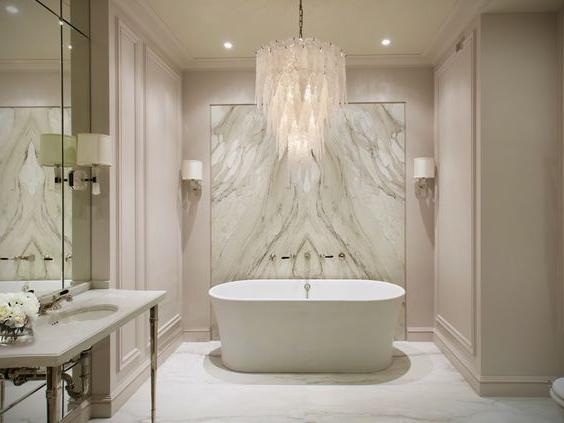 35 Luxurious Bathroom Ideas And Designs White Bathroom