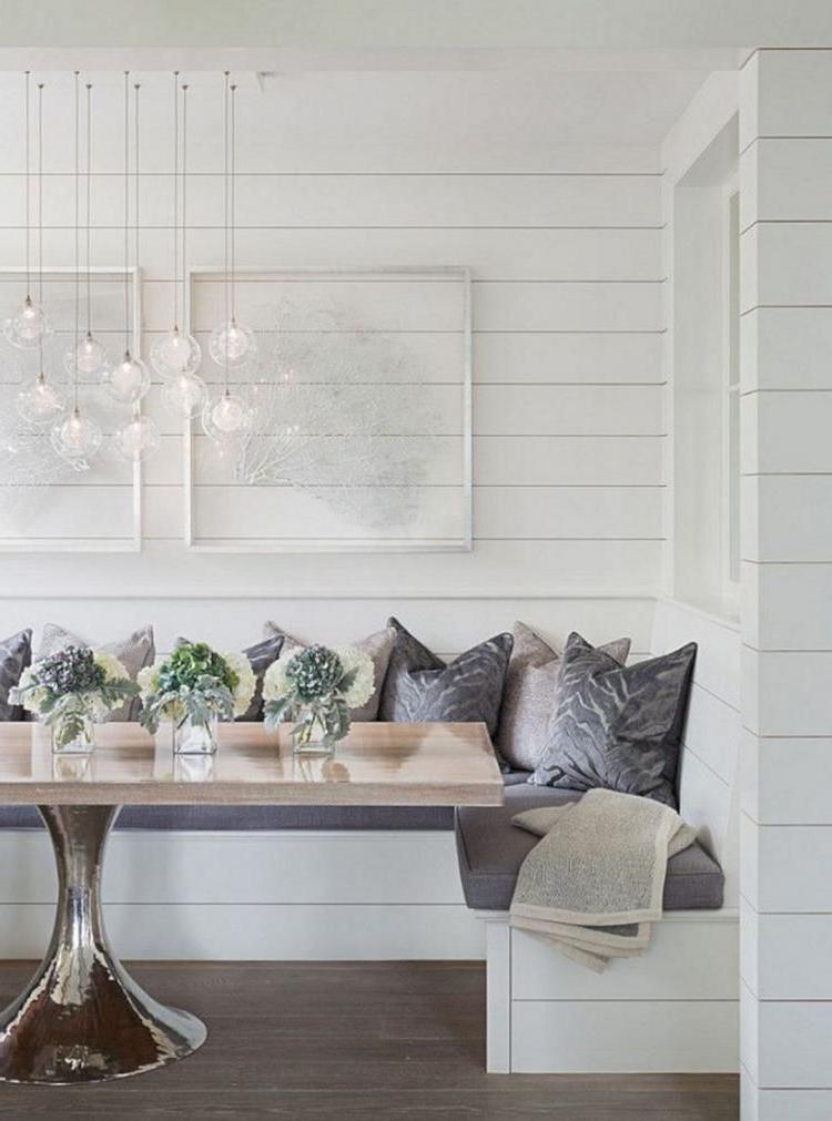 35 Marvelous Coastal Glam Decor Home Decor Dining Nook