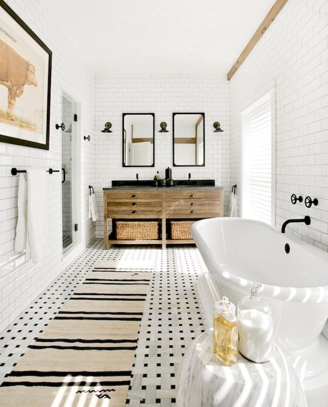 35 Stunning Modern Farmhouse Bathroom Decor Ideas Make You