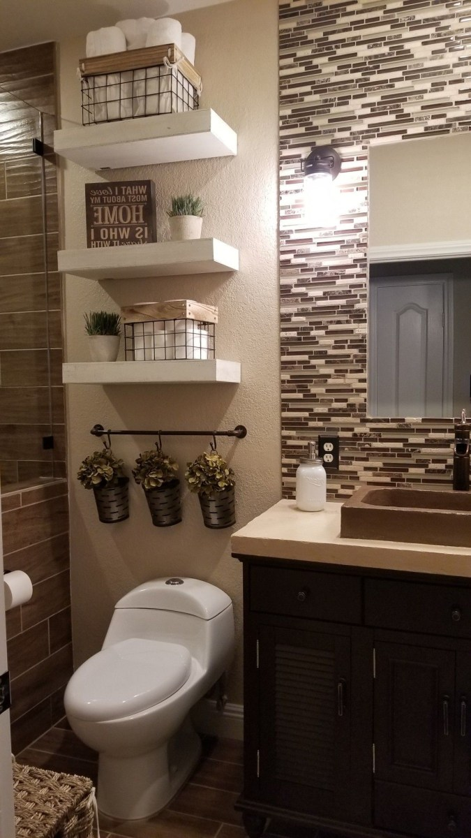 36 Beautiful Farmhouse Bathroom Decor Ideas You Will Go