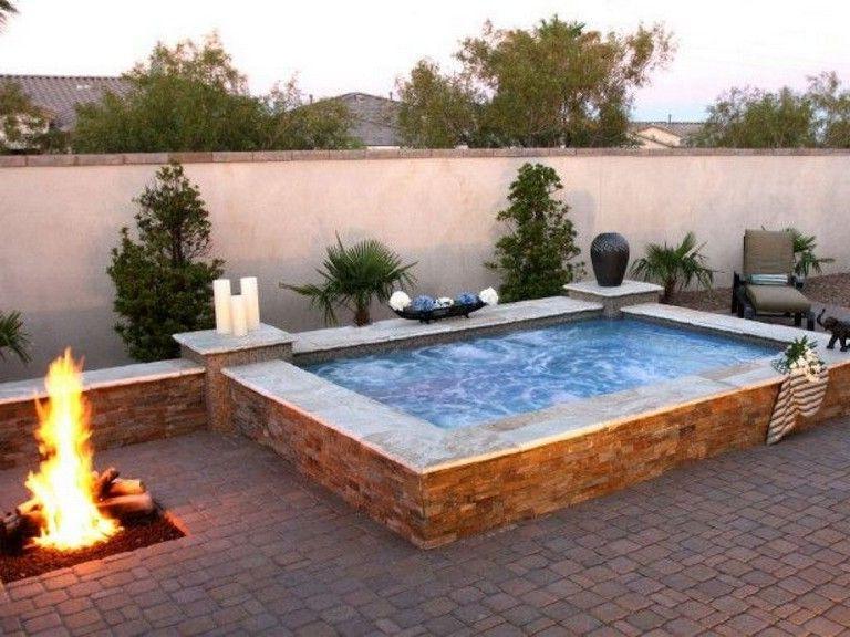 36 Beautiful Mini Pool Garden Designs For Tiny House