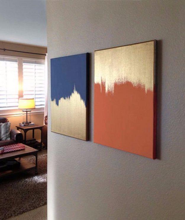36 Diy Canvas Painting Ideas Easy Wall Art Easy Wall