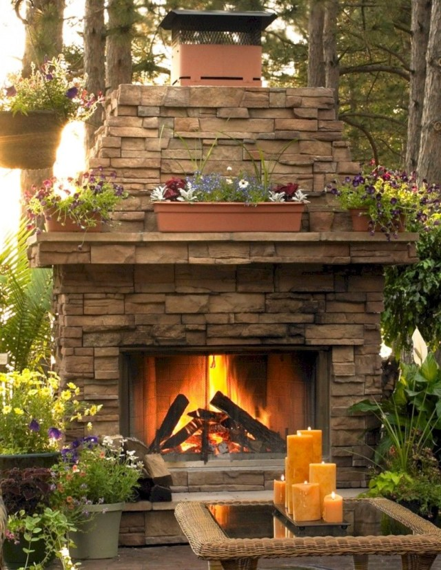 37 Diy Outdoor Fireplace And Fire Pit Ideas Backyard