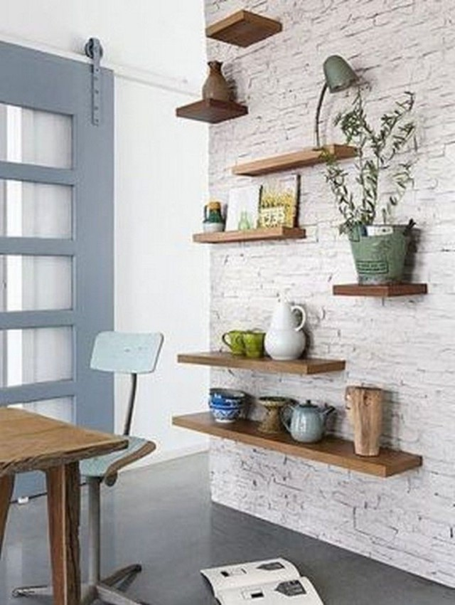 40 Interesting Brick Wall Design To Enhance And