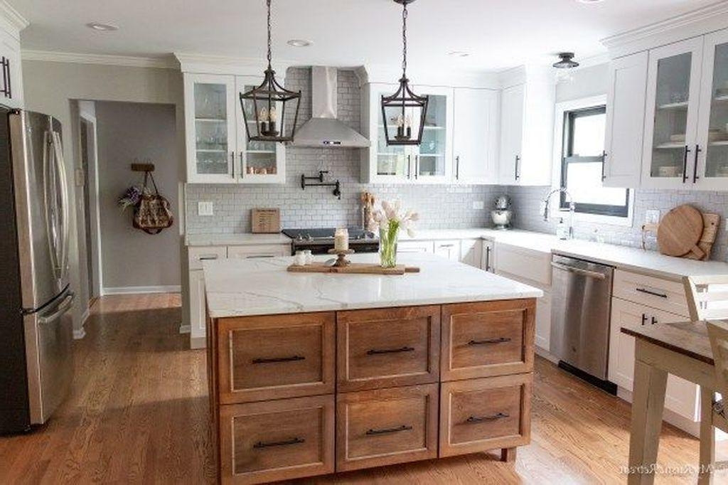 42 Amazing Modern Farmhouse Kitchen Backsplash Ideas