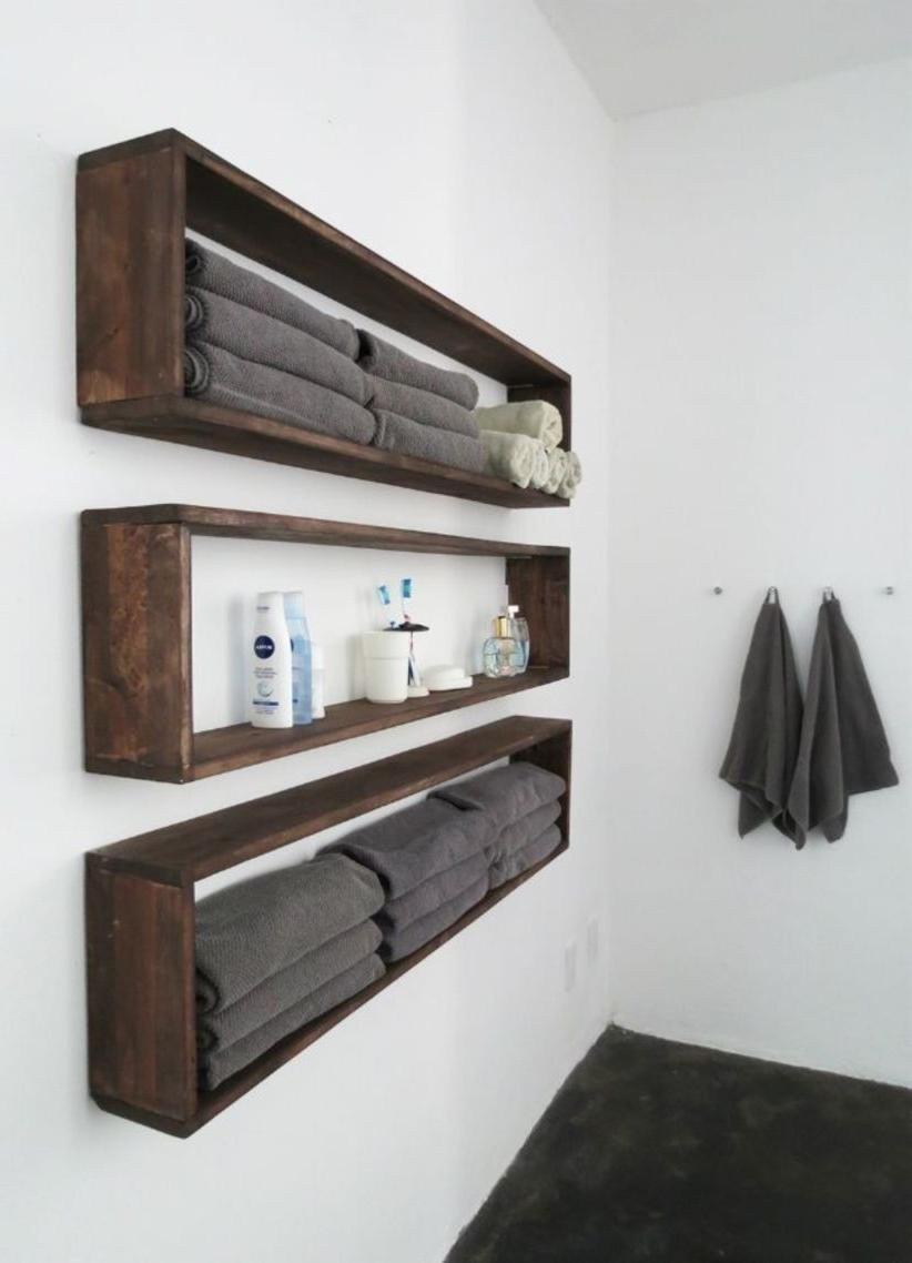 43 Creative Diy Wall Hanging Storage Ideas For Bathroom