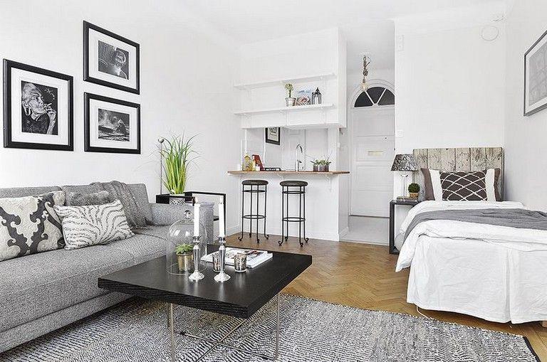43 Simple Studio Apartment Decor Ideas Studio Apartment