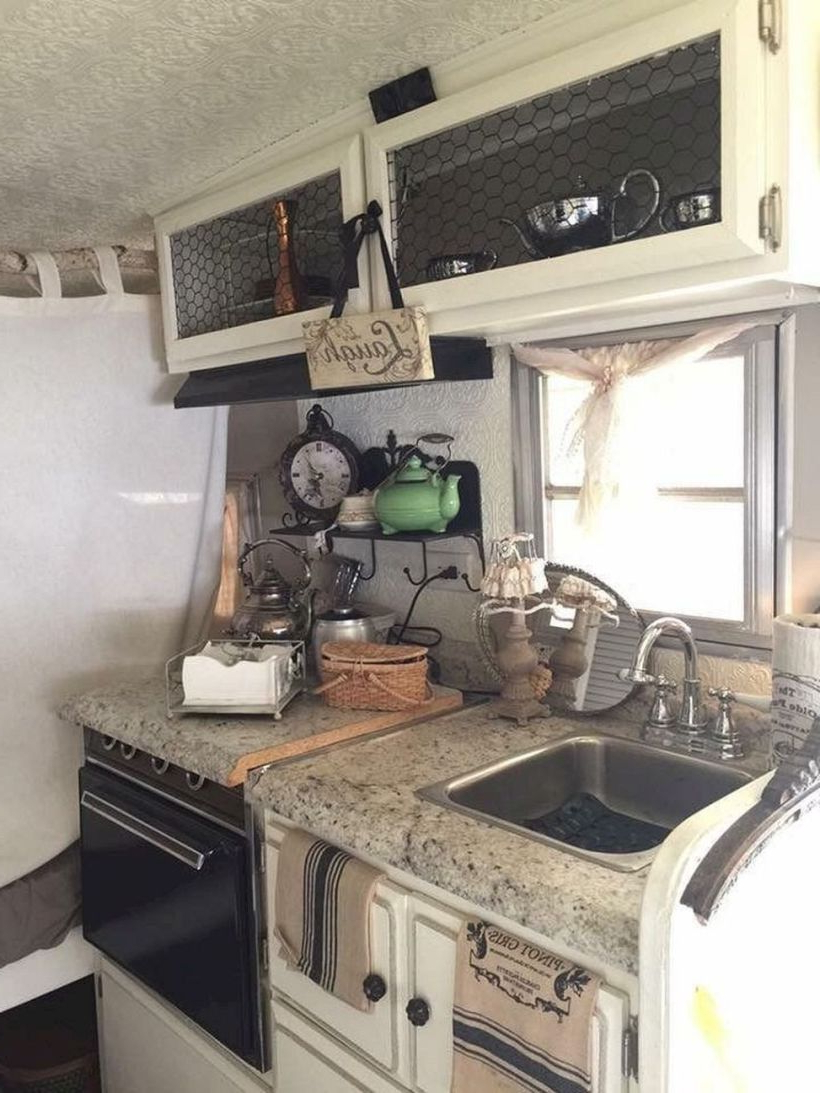 44 Excellent Ideas To Decorating Rv Interior Remodeled