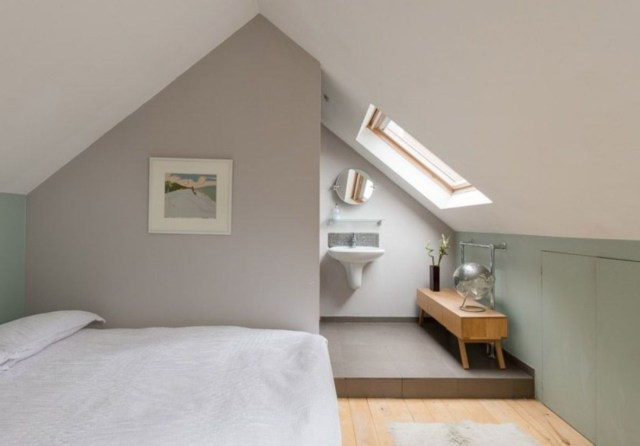 45 Amazing Attic Bedroom Ideas On A Budget Loft Bathroom
