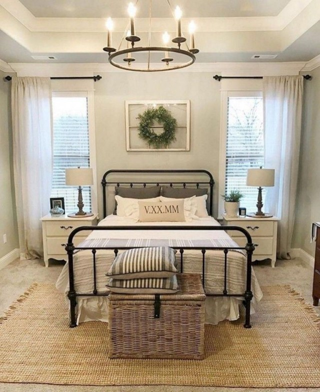 46 Amazing Magnolia Homes Bedroom Design Ideas For