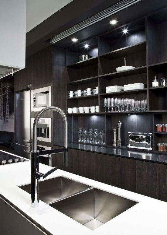 46 Marvelous Designs Of Masculine Kitchen Masculine