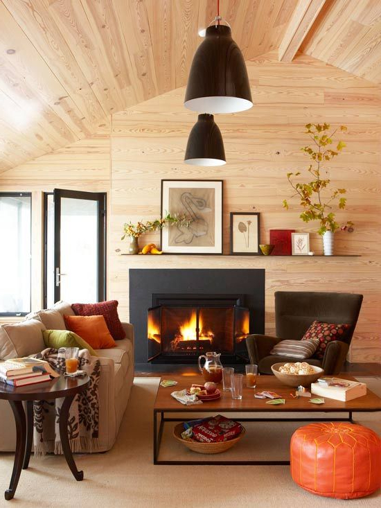 48 Cozy And Inviting Fall Living Room Dcor Ideas Digsdigs