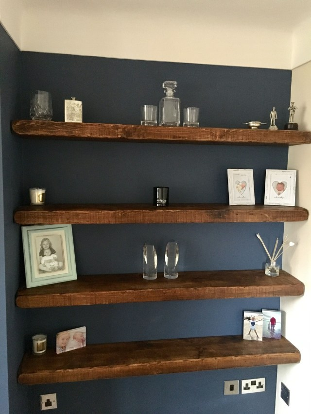 48 Easy And Stylish Design Of Shelves On Diy Floating Wall