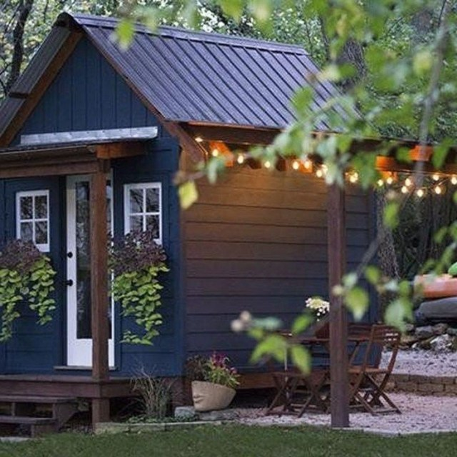 49 Incredible Backyard Storage Shed Makeover Design Ideas