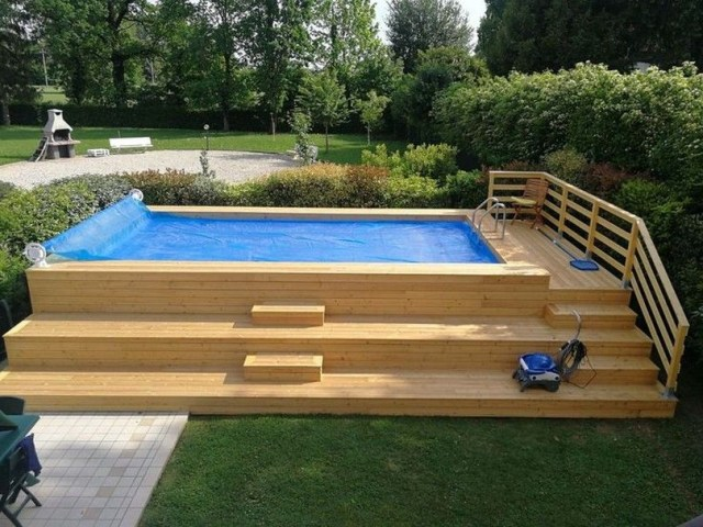 49 Most Popular Backyard Ideas With Pool Design For 2019 36 Pool Designs Backyard Pool