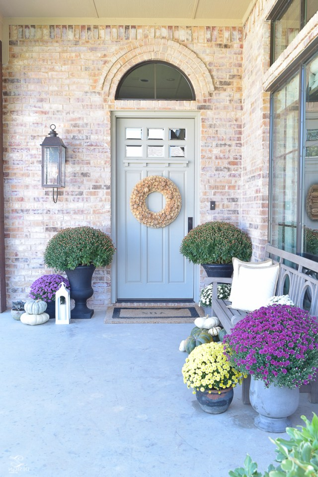 5 Tips For A Beautiful Fall Front Porch A Tour Zdesign