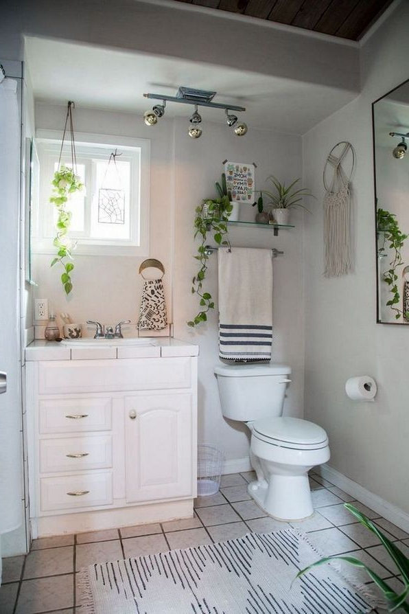 50 Choosing Vintage Bohemian Bathroom Pecansthomedecor