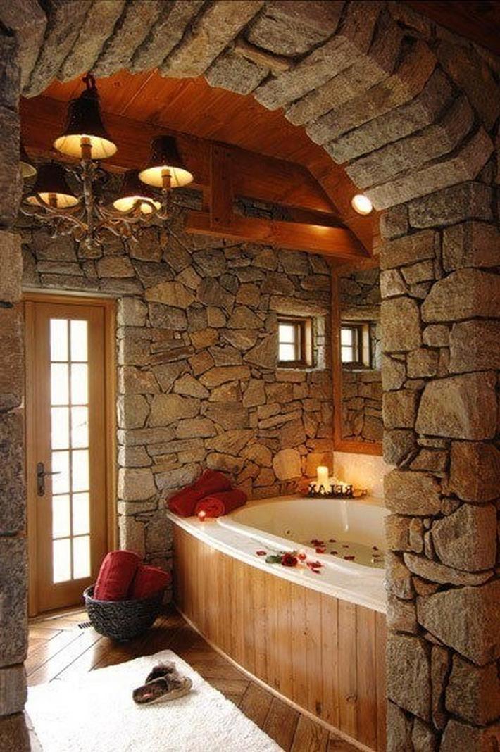 50 Extraordinary Stone Bathroom Designs Interior God