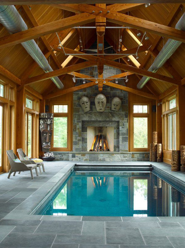 50 Ridiculously Amazing Modern Indoor Pools Small Indoor