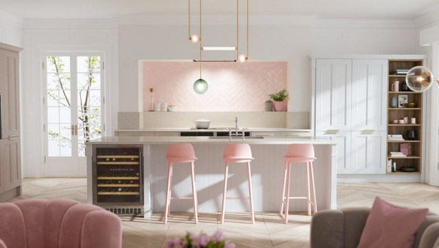 51 Inspirational Pink Kitchens With Tips Accessories To