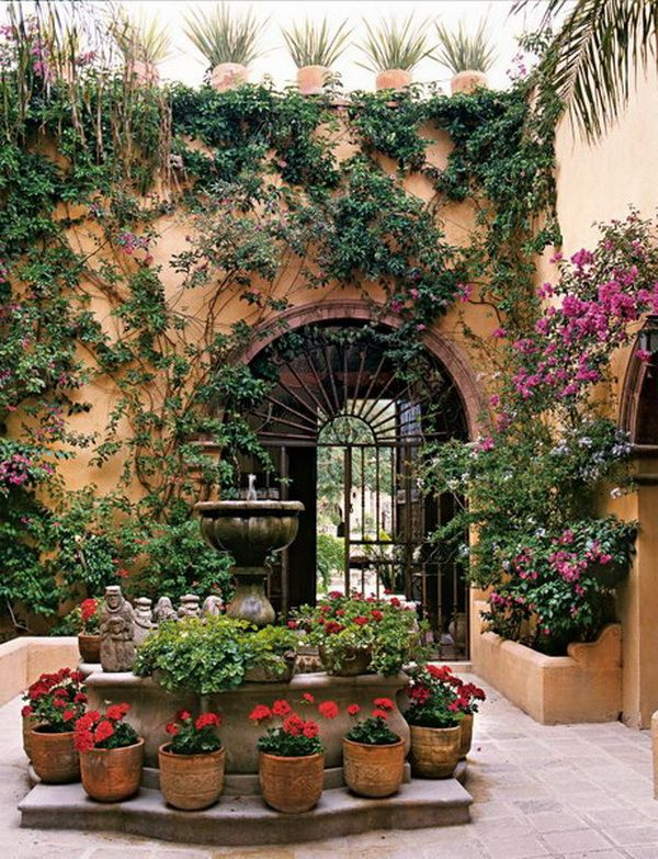 517 Best Beautiful Garden Gates Images On Pinterest