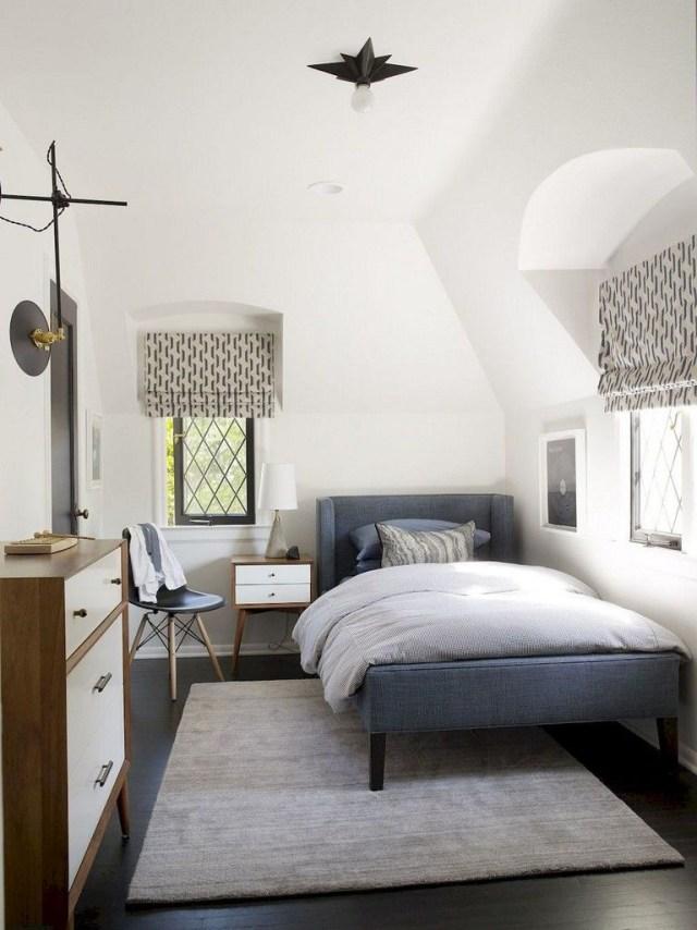 53 Beautiful Mid Century Home Decor Ideas Tiny Bedroom
