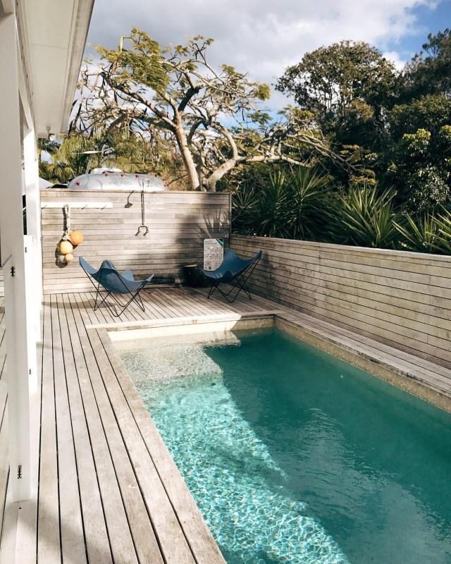 53 Minimalist Small Pool Design With Beautiful Garden