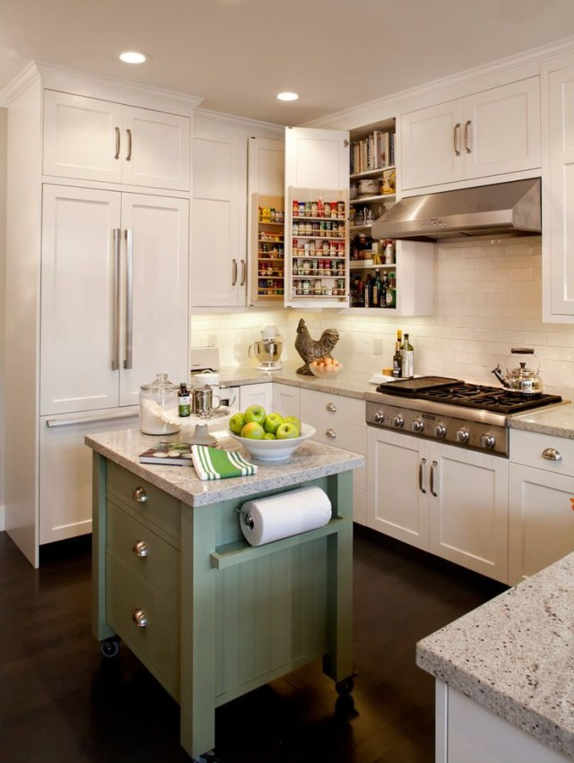 55 Ingenious Ideas To Steal For Your Small Kitchen