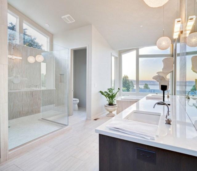55 Sleek Modern Master Bathroom Ideas Photos Modern