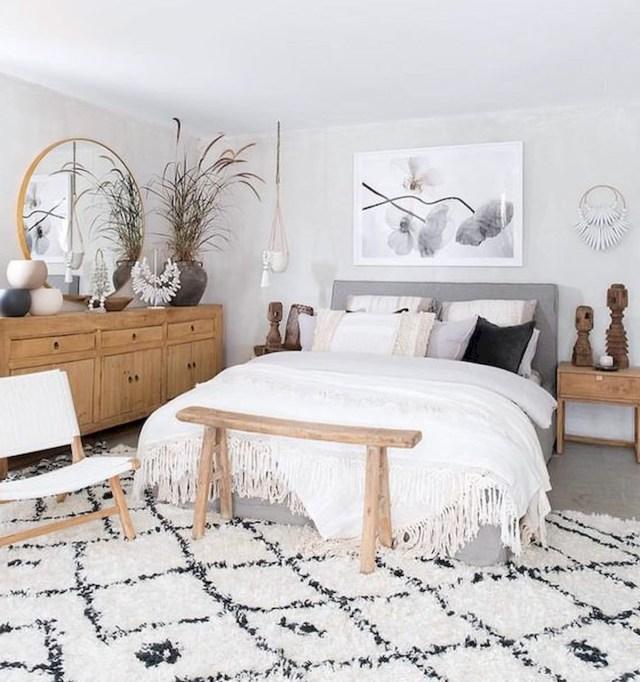 57 Stunning Modern Farmhouse Bedroom Design Ideas And