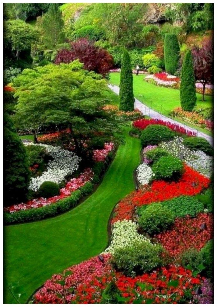 59 Stunning Front Yard Courtyard Landscaping Ideas 35