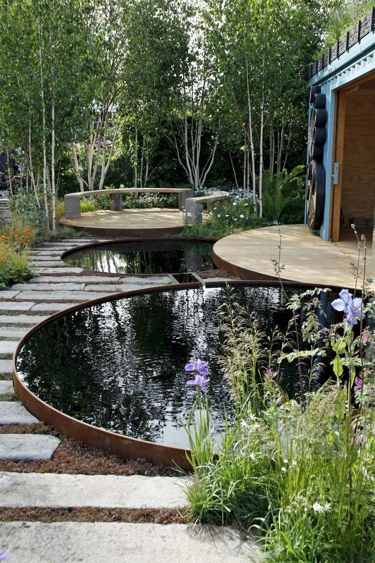 65 Marvelous Backyard Ponds And Water Feature Landscaping