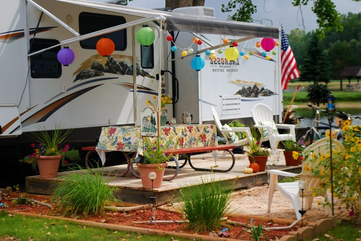 67 Best Permanent Camping Images On Pinterest Campers