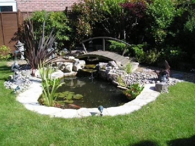 7 Best Beautiful Small Koi Pond Ideas Fish Pond Gardens