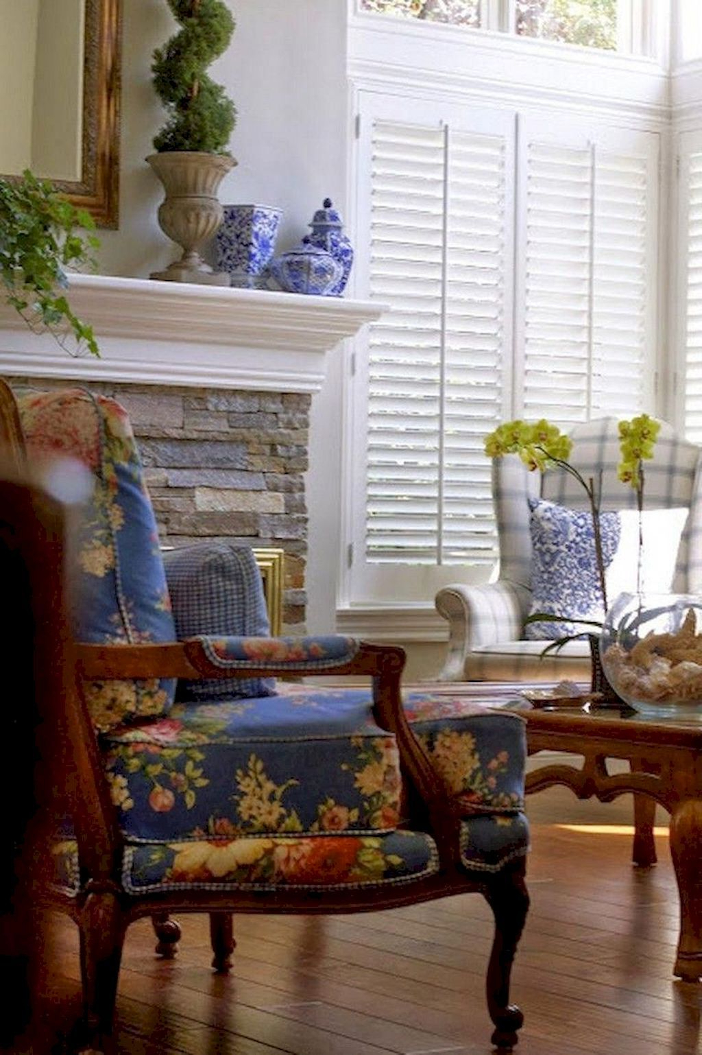 70 Amazing French Country Living Room Decor Ideas French